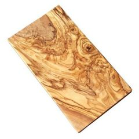"Olive Wood Rectangular Board 12x6"" / 30x15cm"