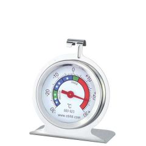 Stainless Steel Fridge Freezer Thermometer