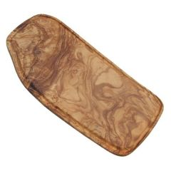 """Olive Wood Board with Groove 13.75"""" / 35cm"""