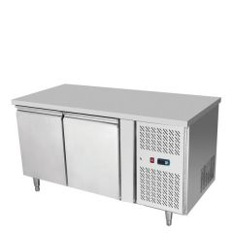 Atosa HD Series Stainless Steel Two Door Counter Fridge 1360x700x839mm
