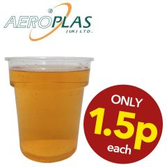 **Special Purchase** Aeroplas Disposable Plastic Half Pint Glass CE to Line 12oz / 34cl
