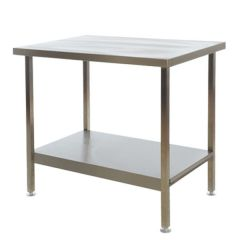 Stainless Steel Folding Table 1700x600x850mm