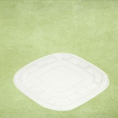 Sabert rPET Clear Lid 27x27cm (for 2.25 & 3.5Ltr Square Catering Bowls)