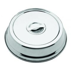 """Stainless Steel Plate Cover 10.5"""" / 27cm"""