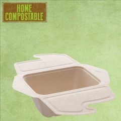 Sabert Home Compostable BePulp Meal Box to Go 750ml 17x13x7cm