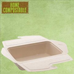 Sabert Home Compostable BePulp Meal Box To Go 1000ml 21x15x5cm