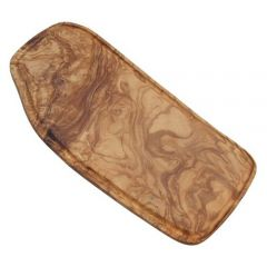 """Olive Wood Board with Groove 17.75"""" / 45cm"""