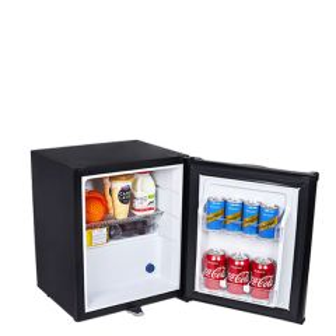 Frostbite Zero Degrees Integrateable Black Mini Bar Fridge 20 Litre 380x373x465mm