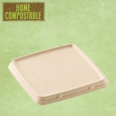 Sabert Home Compostable Pulp Lid 23x23cm (for BePulp Square Trays)