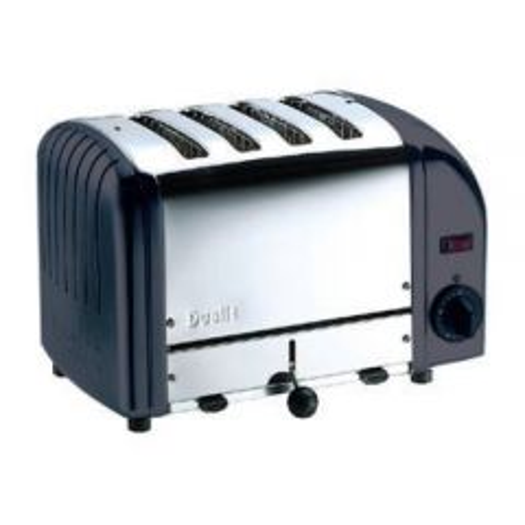 Dualit Toaster 4 Slot Black Pro Heat
