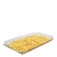 "Rational CombiFry Basket 1/1 Gastronorm Size 12.75 x 21""/ 325 x 530mm"