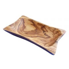 Olive Wood Butter Dish 20x12cm