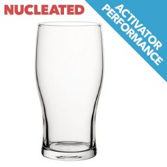 Toughened Tulip Nucleated CE 1/2 Pint 10oz / 28cl
