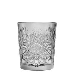 Hobstar Smoked Double Old Fashioned Glass 12oz / 35cl