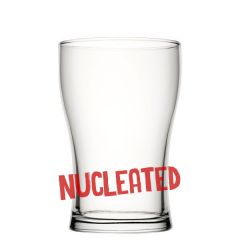 Toughened Bob Craft Beer Glass Nucleated 20oz / 57cl CE