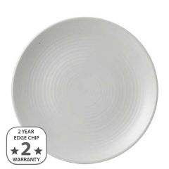 """Dudson Evo Pearl Coupe Plate 10.75"""" / 27.3cm"""