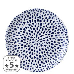 "Dudson Terrazzo Blue Coupe Plate 10.25"" / 26cm"