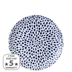 "Dudson Terrazzo Blue Coupe Plate 8.66"" / 21.7cm"