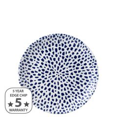 "Dudson Terrazzo Blue Coupe Plate 6.5"" / 16.5cm"