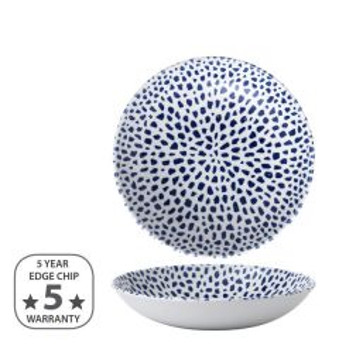 "Dudson Terrazzo Blue Coupe Bowl 7.25"" / 18.2cm"