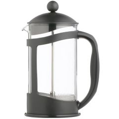 LeExpress Cafetiere with Polycarbonate Body & Black Plastic Frame 8 Cup, 36oz / 1Ltr