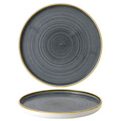 """Churchill Stonecast Blueberry Chefs' Walled Plate 10.25"""" / 26cm"""