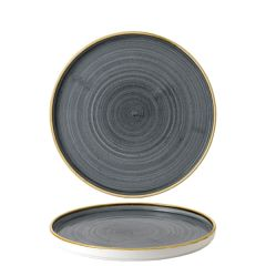 """Churchill Stonecast Blueberry Chefs' Walled Plate 8.25"""" / 21cm"""