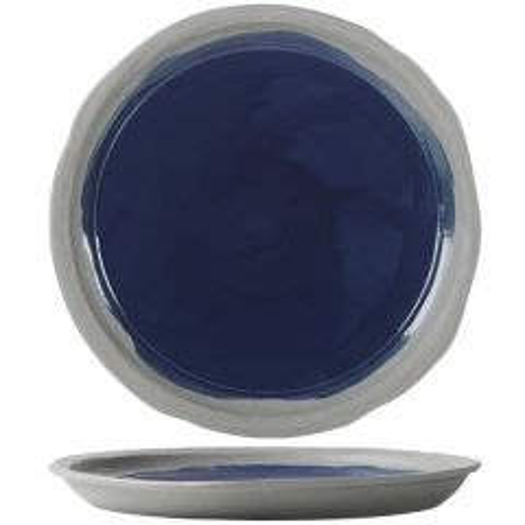 "Revol No.W Recyclay Indigo Blue Plate 10"" / 25.5cm"