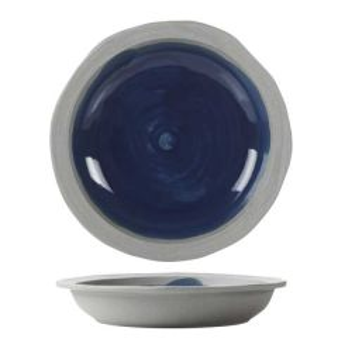 "Revol No.W Recyclay Indigo Blue Deep Plate 8.25"" / 21cm"