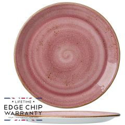 "Steelite Craft Raspberry Coupe Plate 11.75"" / 30cm"