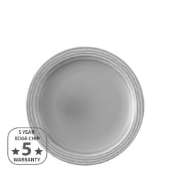 "Dudson Harvest Norse Grey Narrow Rim Plate 8"" / 20.5cm"