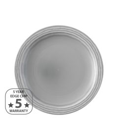 "Dudson Harvest Norse Grey Narrow Rim Plate 9"" / 23cm"