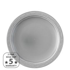 "Dudson Harvest Norse Grey Narrow Rim Plate 10"" / 25.5cm"