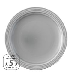 "Dudson Harvest Norse Grey Narrow Rim Plate 11"" / 28cm"