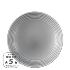 "Dudson Harvest Norse Grey Deep Coupe Plate 10"" / 25.5cm"