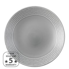 "Dudson Harvest Norse Grey Deep Coupe Plate 11"" / 28cm"