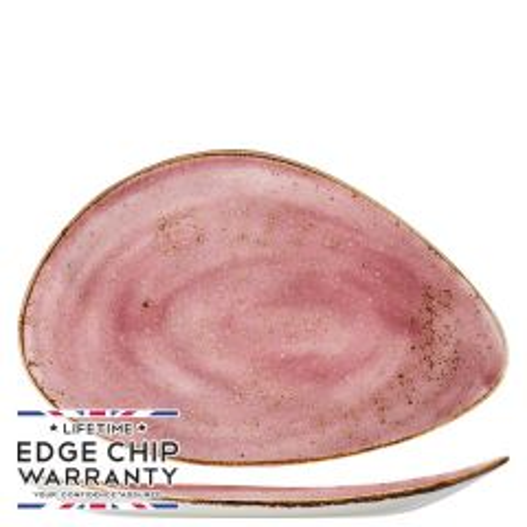 "Steelite Craft Raspberry Oval Plate 14.6"" / 37.5cm"