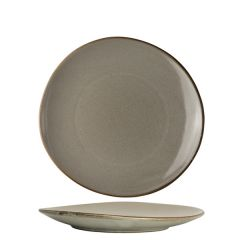 """Robert Gordon The Potter's Collection Pier Organic Coupe Plate 9.25"""" / 23.5cm"""