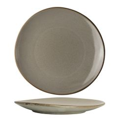 """Robert Gordon The Potter's Collection Pier Organic Coupe Plate 11"""" / 27.9cm"""