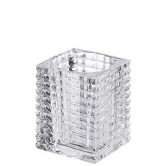 Relight Ribbed Glass Candle Holder