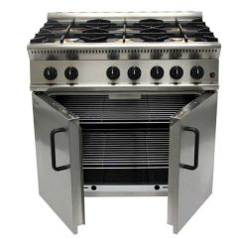 Parry 600 6 Burner Natural Gas Range Oven