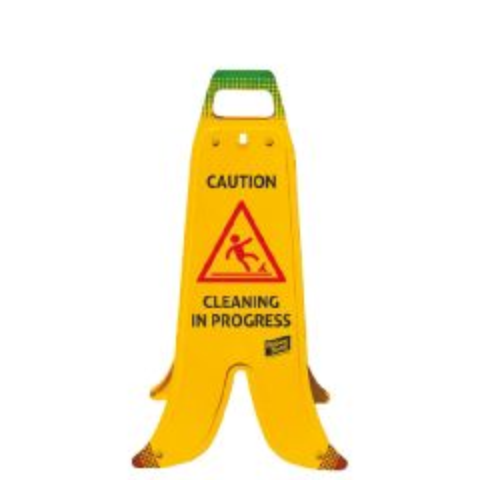 Yellow Caution Plastic Banana A-Frame Sign 60cm