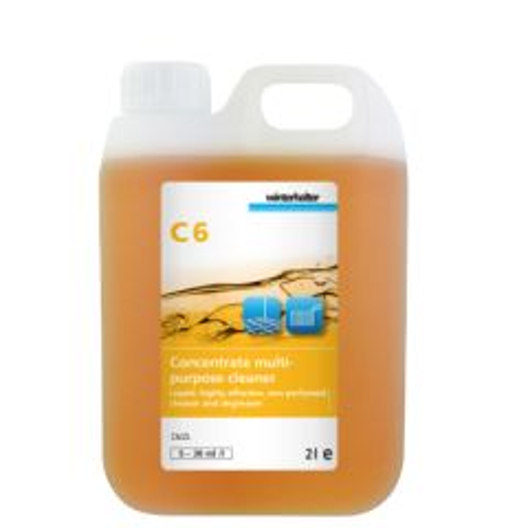 Winterhalter C6 Multi-Purpose Cleaner Concentrate 2Ltr