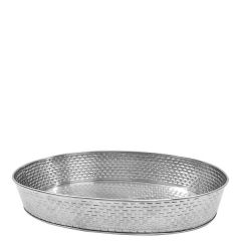 "Brickhouse Stainless Steel Round Platter 10.8"" / 27.5cm"