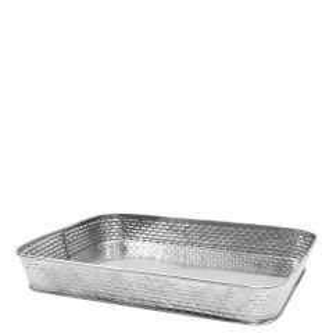 """Brickhouse Stainless Steel Rectangular Platter 12.2x9.3"""" / 31x23.5cm"""