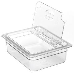Cambro Clear Polycarbonate Gastronorm Flip Lid 1/2