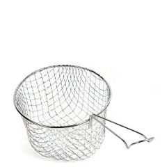 """Stainless Steel Chip Basket 9"""" / 228mm"""