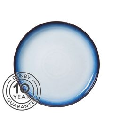 "Denby Blue Haze Coupe Dinner Plate 10.2"" / 26cm"
