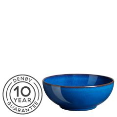 "Denby Imperial Blue Coupe Cereal Bowl 6.7"" / 17cm"