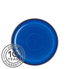 "Denby Imperial Blue Medium Coupe Plate 8.2"" / 21cm"